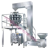 Combined Weighing Scale+ Potato chips Packing machine