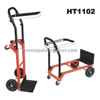 Convertible Hand Truck and Garbage Trolley Dump Cart