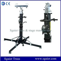 Crank stand lighting stand hand winch stand