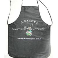Customized cotton  kitchen apron with printing