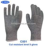 Cut 5 gloves for food processing