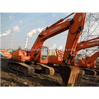 used Daewoo DH220LC-V crawler excavator