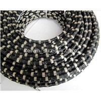 Diamond wire for Granite quarrying
