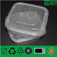 Disposable Takeaway Plastic Container with Lids