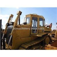 Dozer Caterpillar D6H, used original japan bulldozer