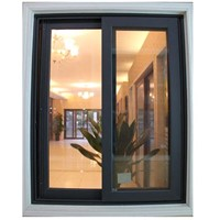 FM88 Commercial aluminium sliding window with mosquito screen