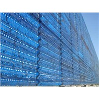 FRP wind and dust protection screen