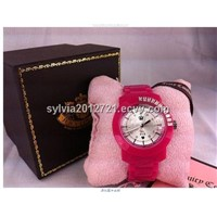 Famous brand name replica juicy watch for lady women with candy color