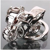 Fashion design motor bike keychain metal keychain gift keychain