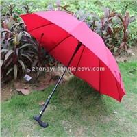 Fashion umbrella walking stick handles