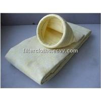 Fiber glass filter bags, FMS filter bags