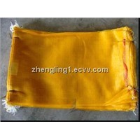 Food grade LDPE natural vented printed potato bag
