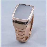 GD999 Watch Mobile Phone,Wrist Mobile Phone,Watch Cellphone Steel Case Quad Band