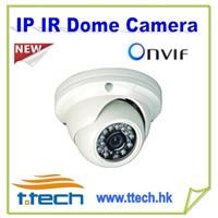 HD IP Camera Metal IP Dome IR Camera CCTV IP Camera