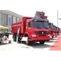 HOWO truck 266 horsepower 6 x4 dump truck (ZZ3257M2949B)