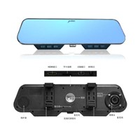 HS-900S Rearview Mirror (single lens)  phone with bluetooth,with mp3 music,blue optical technology