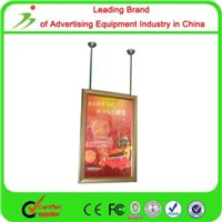 Hanging Double Side Super Slim Led Aluminum Frame light box