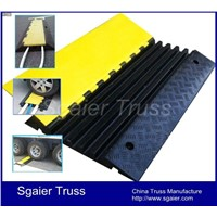 Heavy duty 5 channles cable protector for truck safety mat cable Security Protector