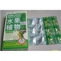 Herbal Fruit Planta Weight Loss Pills Green