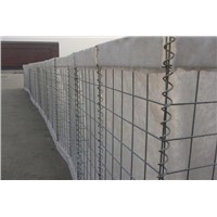 Hesco Type Military Fence Barrier Gabion Hesco Container Barrier Blast wall