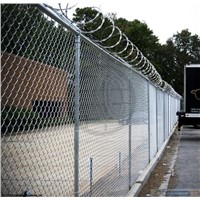High Security Razor Blade Fence Wire Crossed Razor Wire Coil Prison Razor Barbed Wire Fence