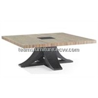Home furniture modern coffee table wooden tea table beauty cocktail table hot sale