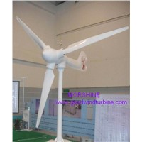 Home use 1KW wind turbine generator with variable pitch