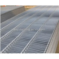 Hot-dipped Galvanized Welded Wire Fence Panel After Welding