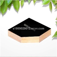 Hot sale Giga 4*8 black 18mm phenolic film faced plywood manufacturer