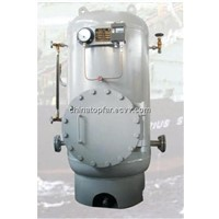 Hydrophone tank, pressure water tank for ship