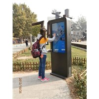 IP65 rated full HD display Outdoor Touchscreen