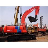 Japan Used Hitachi EX200-2 Hydraulic Crawler Excavators