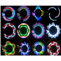 Colorful Rainbow 32 LED Wheel Signal Lights lamp for Bikes bicycles