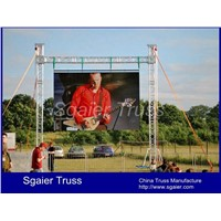 LED display screen truss LED support system