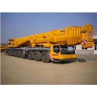 used Liebherr 500T truck crane