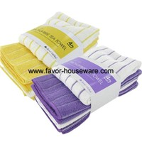 Microfiber tea towel kitchen towel cleaning towel set manufacturer
