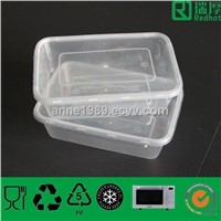 Microwaveable Food Storage Plastic Containers