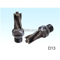 Milling cutter / CNC router bit for glass