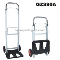 Mini Aluminum Foldable Hand Truck Rubber Wheels GZS90A