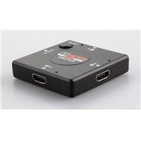 Mini HDMI 3x1 Switch Plastic Case