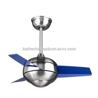 Mini motor LED ceiling fans with light kit