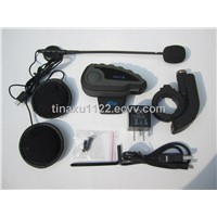 Motorcycle bluetooth intercom for 5 riders