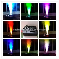 NEW 1500W Digital 21pcs*3W RGB Mixing LED Colorful UP Fog Machine For Wedding Effects Event Party
