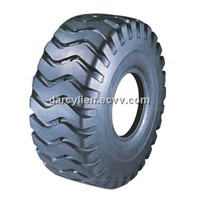 OTR tyre of E3/L3 pattern, with high quality