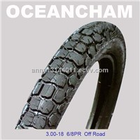 Off road motorcycle tyres