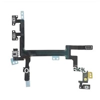 Original Power Button Switch On/Off Flex Cable Part for iPhone 5c,5g,5s,wholesale price