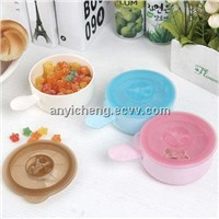 PLA Corn Materials Baby big microwave bowl