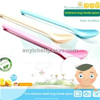 PLA corn material baby spoon