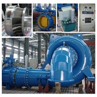 Pelton Turbine (double nozzle) /Hydro Turbine/Power Plant