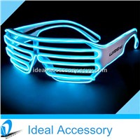 Personalized Window-shade EL equalizer Light Up Eye Glasses for Party Favors&Promotional Gifts